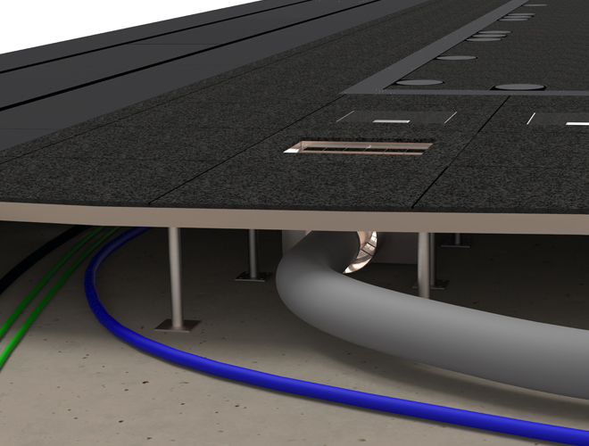 Kolb False Floor System